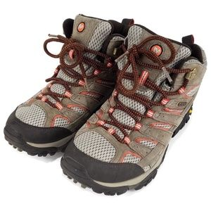 Merrell Women's Moab 2 Mid Bungee Cord Boots